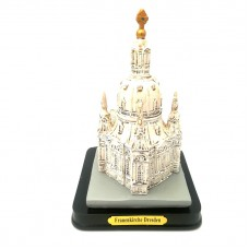 Model of the Frauenkirche sandstone-white, large size