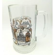 Beer Stein Glass Tankard Mug