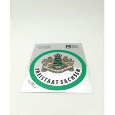"""Free State of Saxony"" Sticker"