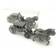 """Pewter Model of the """"Saxon Carriage"""""""