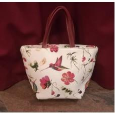 Tapestry Sholder Tote Handbag-Hummingbird