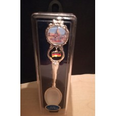 """""""View over the River Elbe"""" Teaspoon"""
