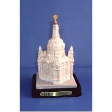 Model of the Frauenkirche sandstone-white, small