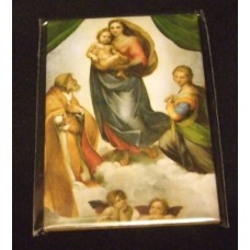 """Sistine Madonna"" Magnet"